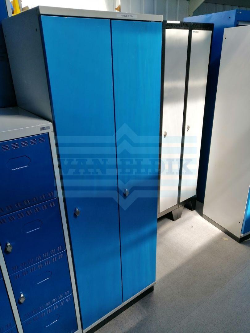 Lista Garderobekast B600 X D500 X H1850 2 Delig