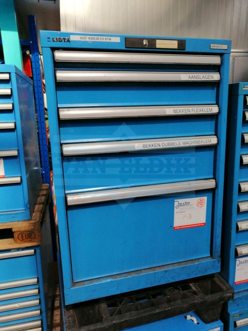 Lista Schuifladenkast 5 Laden B560 X D720 X H850